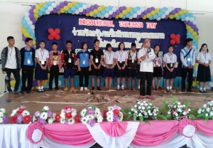 Children Representatives from Migrant Schools Press Released after Opening Ceremony